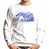 Photo de TV Times Gladys Knight and The Pips 1980 Paint Splatter Men's Sweatshirt par TV Times