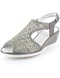 ara 12-37142-06, Sandales femme - gris - gris,