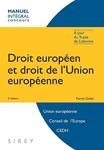 Droit européen et droit de l'Union ...