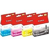 Canon PGI5BK Pack de Cartouche de toner Cyan/Magenta/Jaune