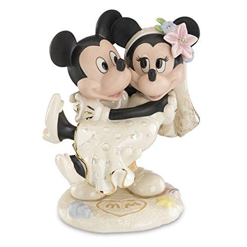 Cake topper DISNEY - Topolino e Minnie matrimonio sulla spiaggia