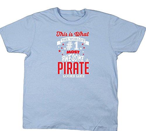 Hippowarehouse Mädchen T-Shirt 6 Jahre Gr. 6 Jahre, (Kind Hat Caribbean Pirate)