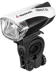 MacTronic LED Fahrradfrontleuchte mit Straßenverkehrs Zulassung, L-AL-01BF