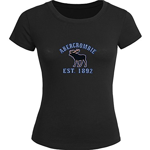 AF Abercrombie Fitch Printed For Ladies Womens T-shirt Tee Outlet (Abercrombie Damen Sweatshirt)
