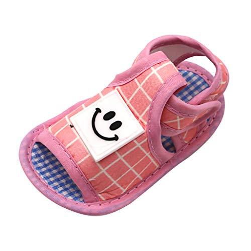 Kaister Neugeborene Sandalen Babys lächelndes Gesicht Prewalker weiche Sohle Sandalen einzelne Schuhe Outdoor shoes -