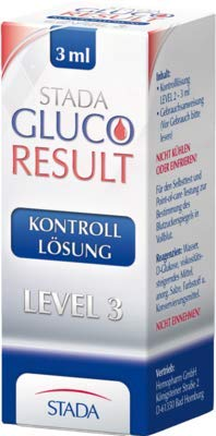 Stada Gluco Result Kontrolllösung Level 3, 3 ml