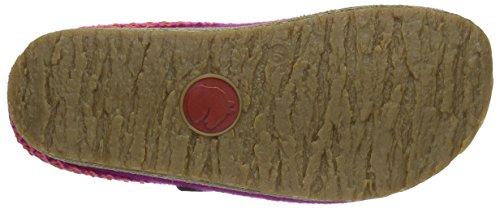 Haflinger Francisco, Chaussons mixte adulte Rose - Pink (Kardinal 22)