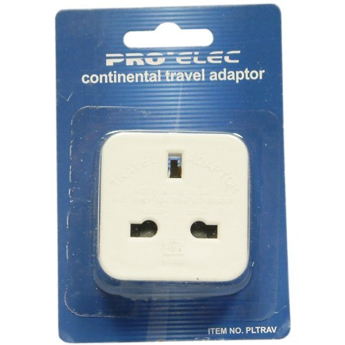 Dominoes of Leicester Ltd Pro Elec Continental Reiseadapter Continental Domino