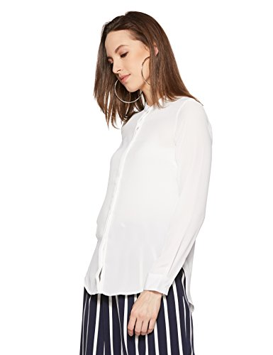 Van Heusen Women's Button Down Shirt (VWSF517F01258_White_XL)
