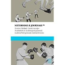 Carnet de Musique Notebooks & Journals, Boxe (Collection Vintage), Pocket: Couverture souple (10.16 x 15.24 cm)(Carnet à musique, Cahier de musique)