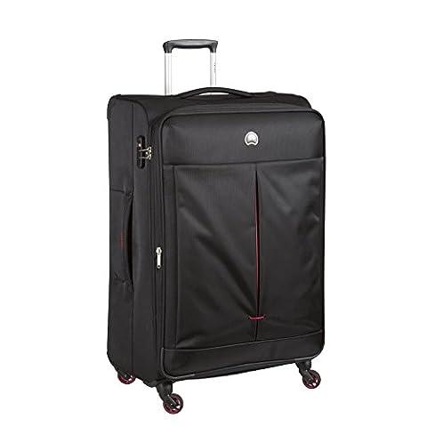 DELSEY Air Adventure Soft2 Valise, 77 cm, 119 L, noir