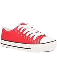 11ff25831d67 Amazon.fr   Rouge - Baskets mode   Chaussures femme   Chaussures et Sacs