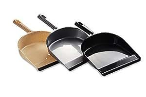 All Time 3 Piece Plastic Dust Pan, Multicolour
