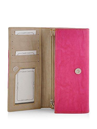 Butterflies Women's Wallet (Pink) (BNS 2358PK)