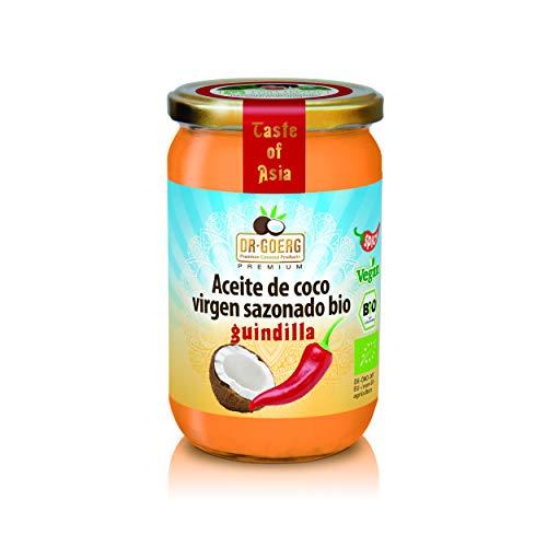 Dr. Goerg  Aceite de Coco Guindilla Bio - 175 gr