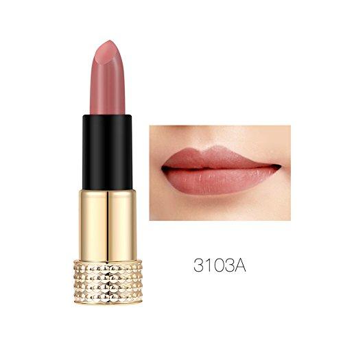 b5d84439237b63 Matte Lipstick Hidratante a prueba de agua de larga duración maquillaje  cosméticos belleza herramienta (