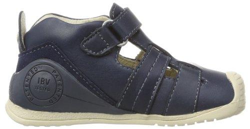 Biomecanics 142131, chaussures premiers pas mixte bébé Bleu - Blau (Azul marino)