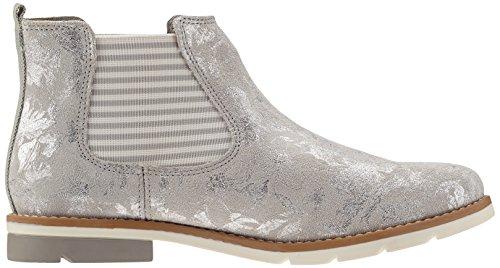 s.Oliver Damen 25335 Chelsea Boots Grau (QUARTZ 202)