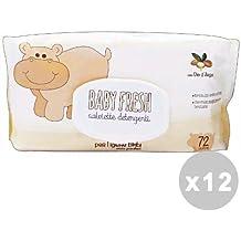 Baby Fresh Juego 12 Baby Fresh Toallitas Bebé Argan * 72 Pz. ...