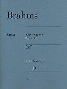 Klavierstücke op. 118 - piano - no. 1-6 - piano - (HN 1215) from G. Henle Verlag