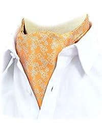 Felix   SiLK Hombre Niño jacquard Flores Ascot Cravat Corbatas Fulares  Bufanda de Cuello Bufanda aba7a0922b9