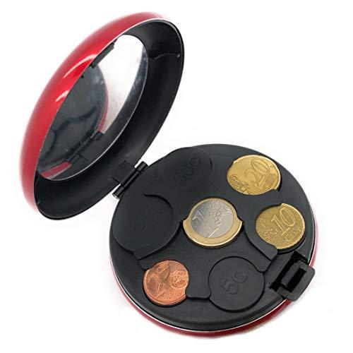 MovilCom ® Monedero Organizador Monedas clasificador