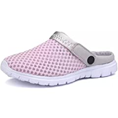 e820b7caa489d Eagsouni Summer Slippers Women Men Clogs Breathable Mesh Beac .