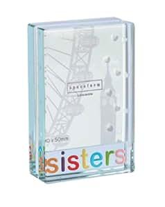Spaceform Dinky Glass Photo Frame - Sisters