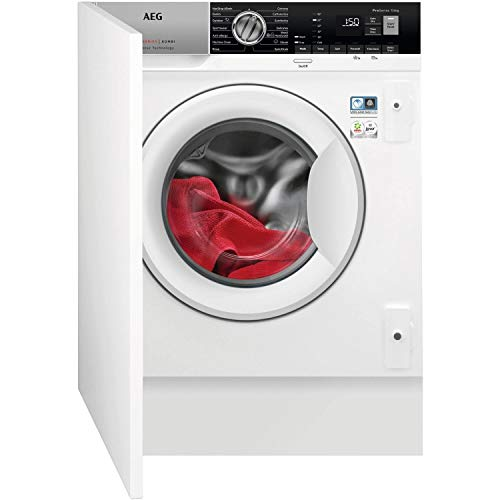 AEG L7WE7631BI 7000 Series 7kg Wash 4kg Dry 1550rpm Integrated Washer Dryer With Steam