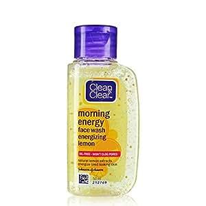 Clean & Clear Morning Energy Lemon Face Wash, 50ml