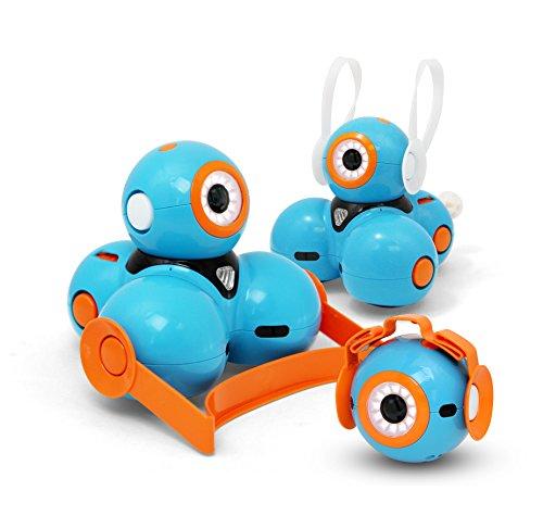 41YOMFRmK%2BL - Wonder Workshop - Pack de accesorios para sus robots educativos Dash y Dot, color naranja (AC01)