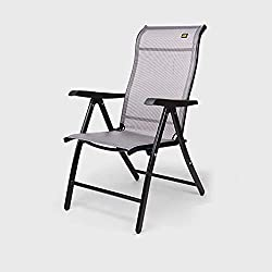 BLWX-Sedia pieghevole Pieghevole per sedie Sedia reclinabile per sedie a Pelo per la Pausa Pranzo Sedia Pieghevole (Colore : C)