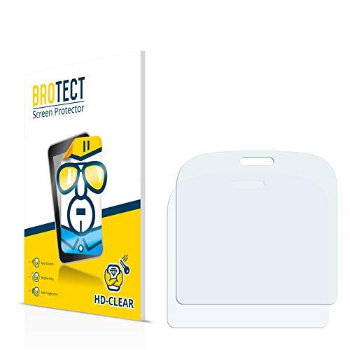 BROTECT für Doro 1361 Schutzfolie [2er Pack] - klare Displayschutzfolie, Crystal-Clear