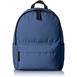 AmazonBasics Classic Laptop Backpack - Navy