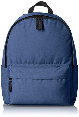 AmazonBasics, Mochila de estilo clásico, Azul (Azul Marino)
