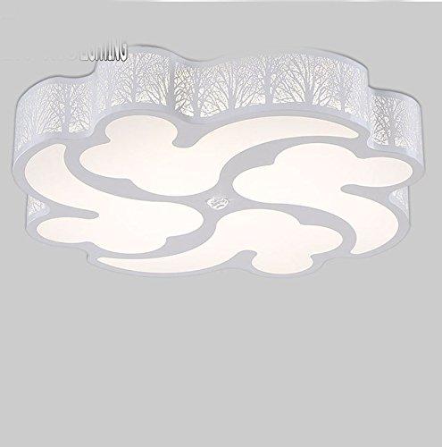 GQLB Luce da soffitto camere moderne in stile minimalista di ferro di luce LED luce a soffitto 530*530*90MM, ottica neutrale