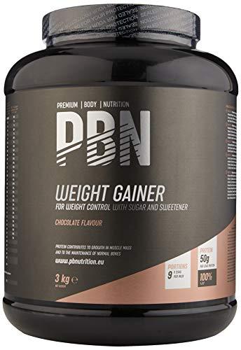 PBN Weight Gainer Chocolate 3kg Jar