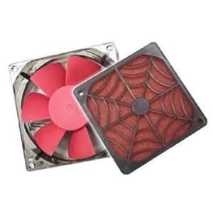Cablematic - Araignée grille + filtre + ventilateur (80x80mm)