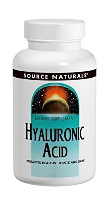 Source Naturals, Hyaluronic Acid, 100 mg, 30 Tablets by Source Naturals