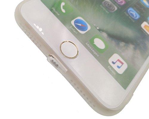 2x iPhone 7 Plus Hülle, BENKER Hohe Qualität Kreativ Anti-Kratz Nicht Verblassen TPU Silikon Matte Telefon Fall - SET-2 Birdie