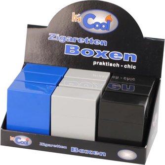 6 Zigarettenboxen XXL Zigaretten Big Box ohne Steg 30er 6er Set