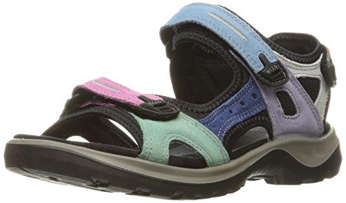 ECCO Offroad', Sandali sportivi Donna, Multicolore (Multicolor Pastel), 37 EU
