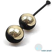 MAILIN Boules de Geisha 2 pcs Métal Kegel Balls Rééducation de Périnée pour contrôle de vessie et Kegel Tight Exercises pour Femme