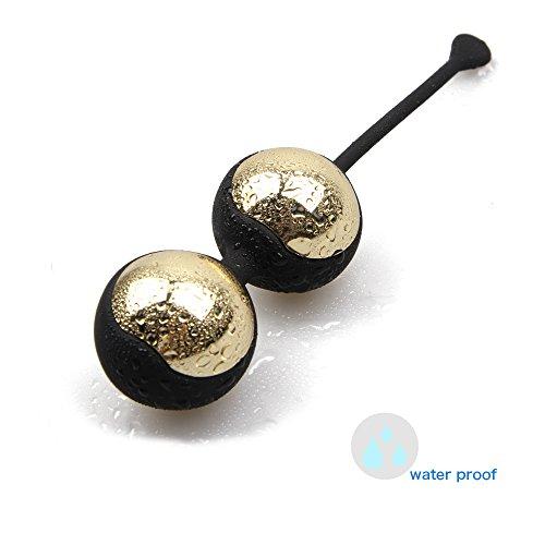 MAILIN Bolas de geisha 2pcs metal Kegel Balls vaginals rehabilitación de pelvis para control de vejiga y Kegel Tight Exercises para mujer
