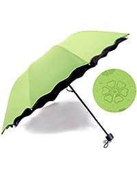 Paraguas, Paraguas Plegable Antiviento, Paraguas de golf a prueba de viento, Paraguas Compacto