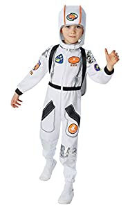 Rubies - Disfraz Oficial de Astronauta para niños (Talla XL), para niños de 9 a 10 años