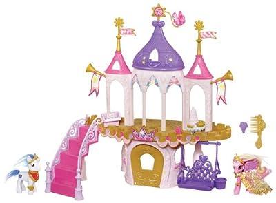 My Little Pony 98734148 - Castillo de bodas con figuras de ponis por Hasbro