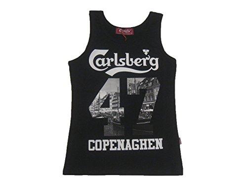 Carlsberg CBU3074 Canotta Uomo Colore Nero (M)