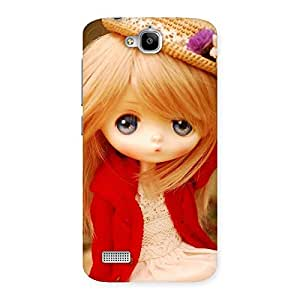 Angel Wearing Hat Multicolor Back Case Cover for Honor Holly
