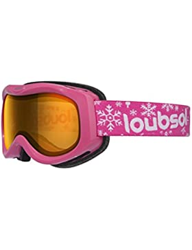 Loubsol Olympe máscara de esquí para niña, rosa, 8–10años